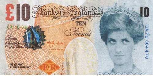 Banksy Di-faced Tenner front