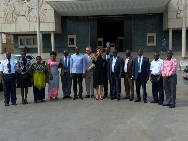 Meeting with MPs in Fight Against Malaria in Uganda