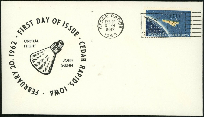 United States - Scott #1193 (1962) first day cover - Cedar Rapids, Iowa