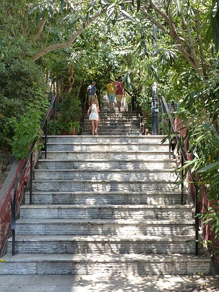 les escaliers de kolonaki