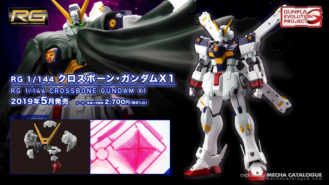Gunpla Evolution Project: RG Crossbone Gundam X1