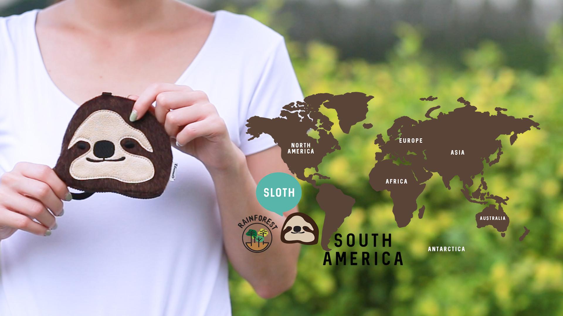 sloth habitat