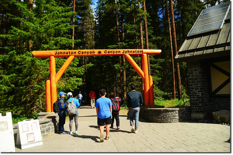 Johnston Canyon Trailhead