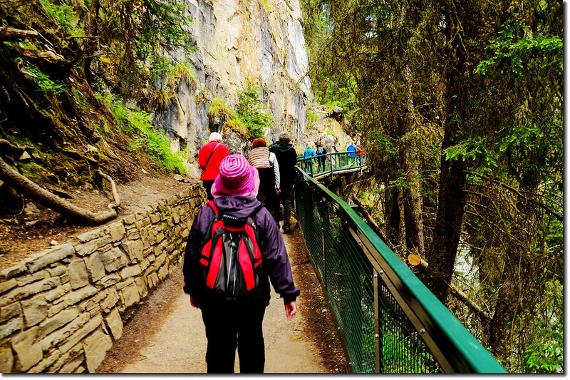 Johnston Canyon Trail (3)