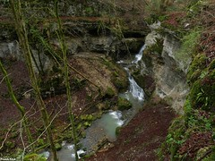 Vue  du Canyon de Rochanon - Bolandoz