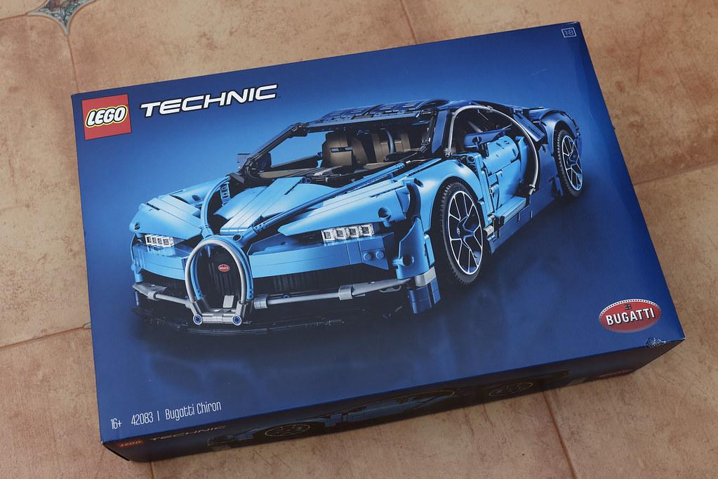 Lego Bugatti Chiron Pattaya Days
