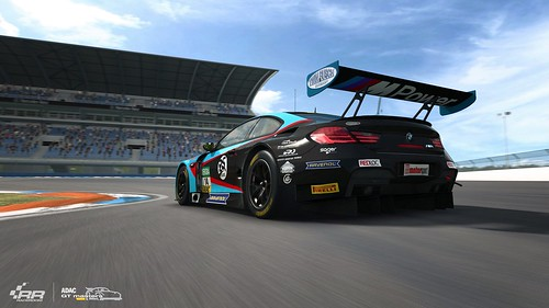RaceRoom 2018 ADAC GT Update BMW M6 GT3 Rear