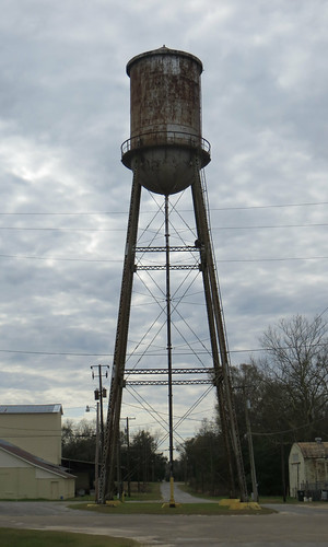 Old Water Tower Samson AL