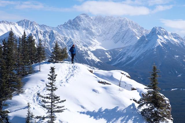Snowshoeing - Gypsum Ridge - Feb 2019-13