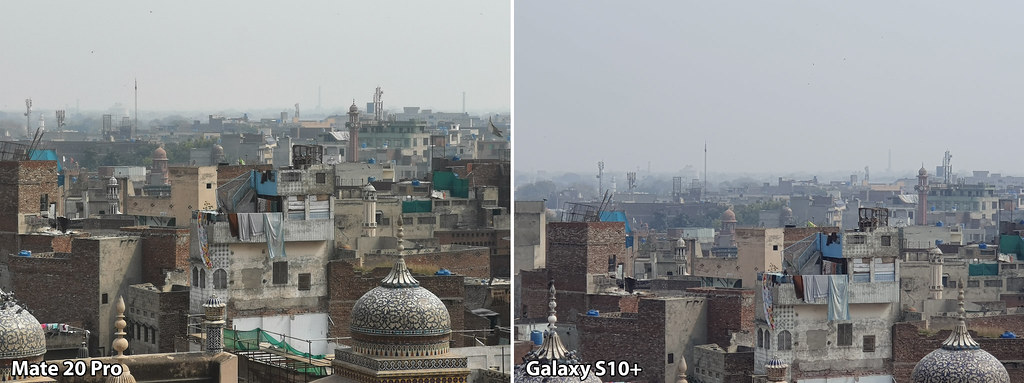 Mate 20 vs Galaxy S10+: Shot with 5X Zoom