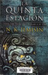 NK Jemisin, La quinta estación