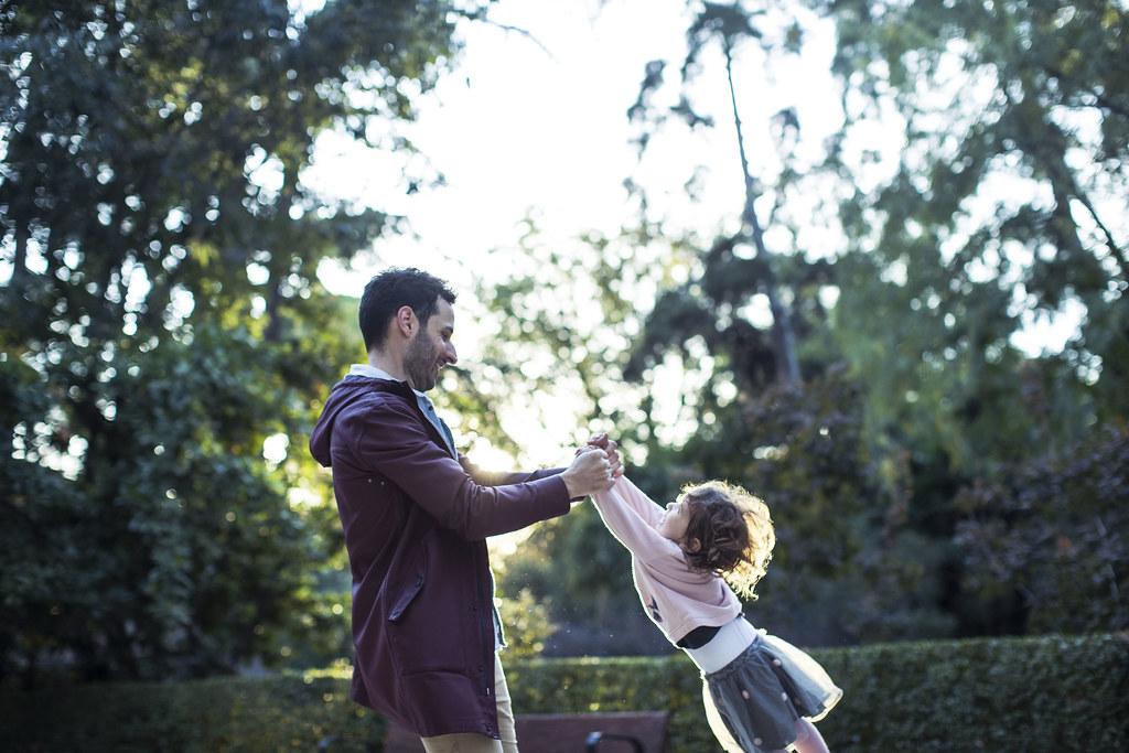 Jugando con Eva (fotografía de Jaime Massieu)