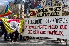 Paris, manifestation du 30 mars 2019 des gilets jaunes, Acte XX