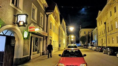 EFERDING - Starhembergplatz im Mondlicht - 1