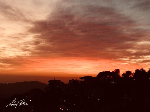 skyscape redsky streetphoto deirelqamar lebanon landscape mountain winter sunset nikon