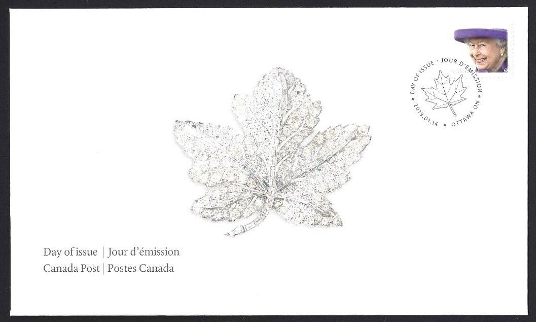 Canada - Queen Elizabeth II definitive stamp (January 14, 2019) first day cover