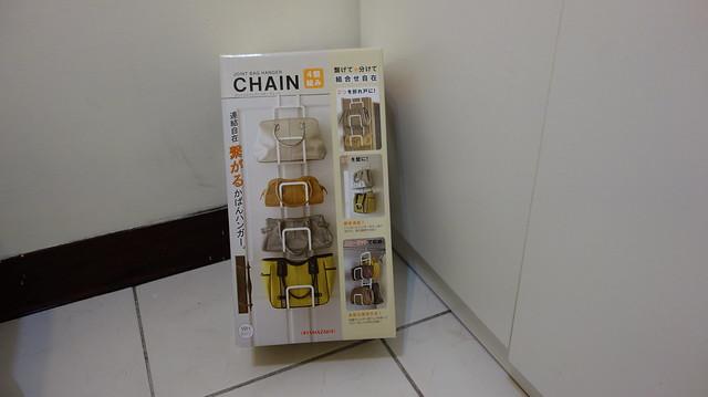 包裝正面@YAMAZAKI創意包包收納架