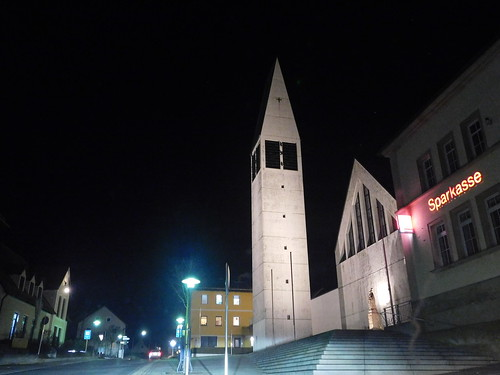 Kirchenthumbach bei Nacht