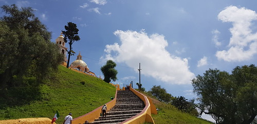 Santuario de la Virgen de los Remedios, Cholula - Puebla