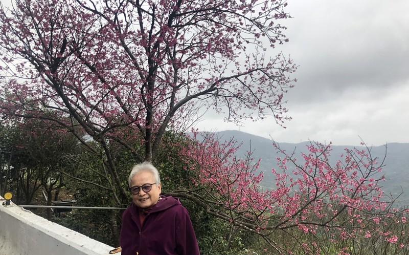 母女婿陽明山賞櫻聚餐 (13)