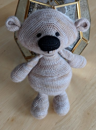 amigurumi bear felted