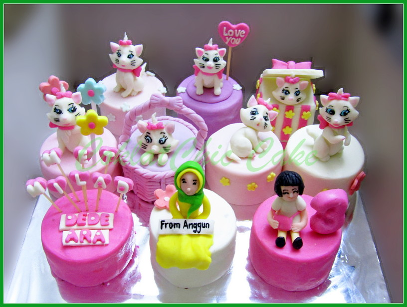 Minicake set Marie The Cat