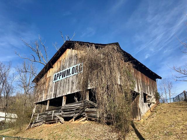 Barn, Monteith Farmstead, Dillsboro, NC