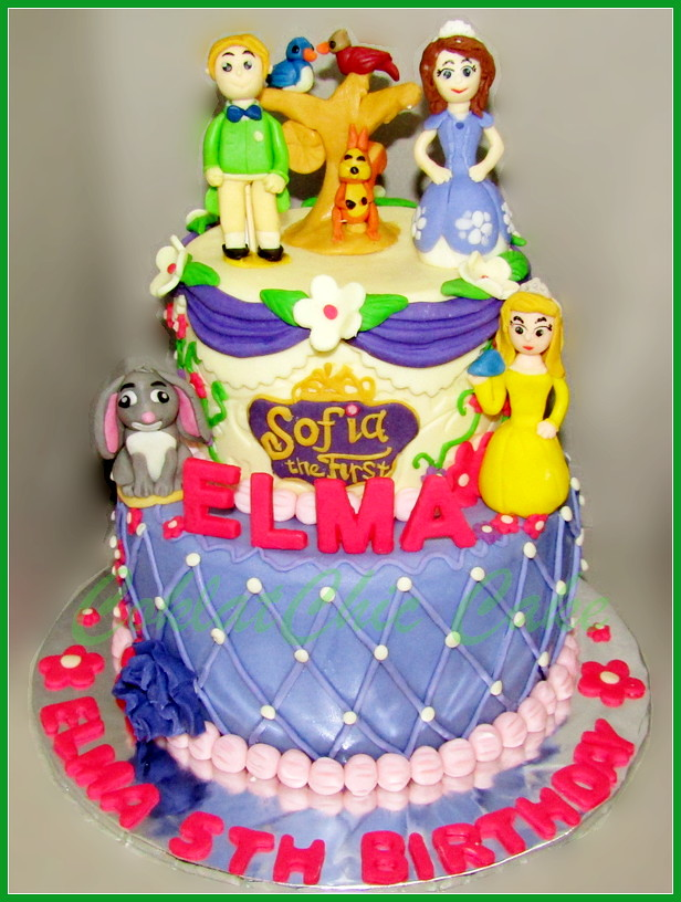 Cake Sofia The First ELMA 18/12