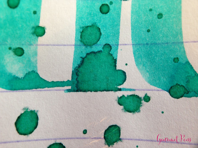 Caran d'Ache Turquoise Green Ink 7