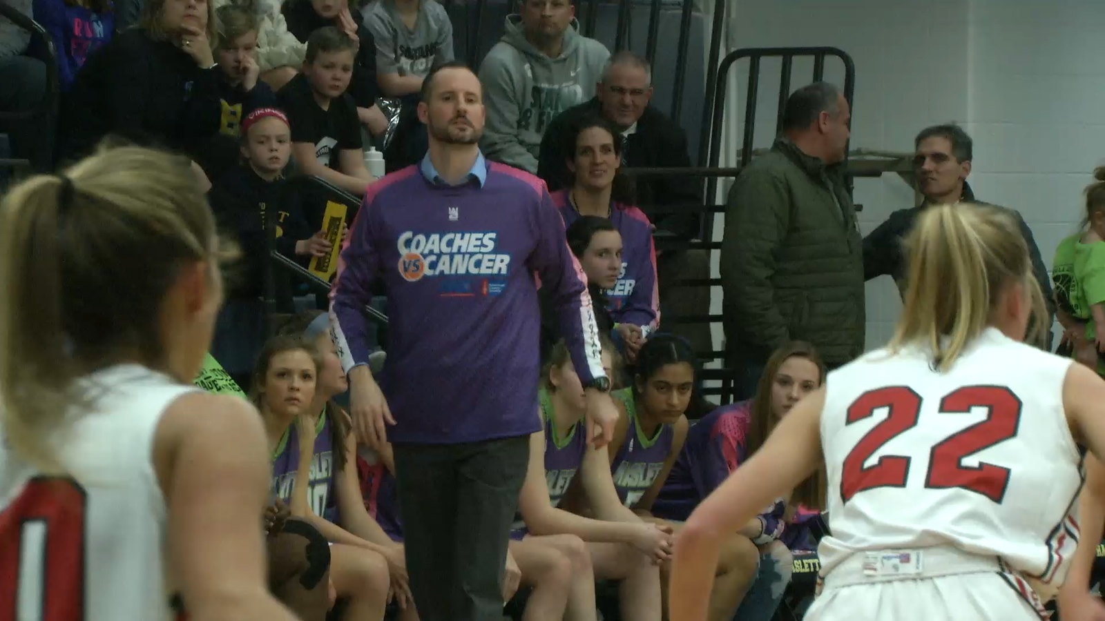 Haslett High School Hosts Coaches VS. Cancer During Basketball Against St. Johns