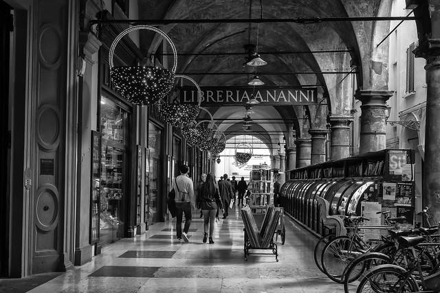 Bologna (Italy)  - Portico di Via de' Musei