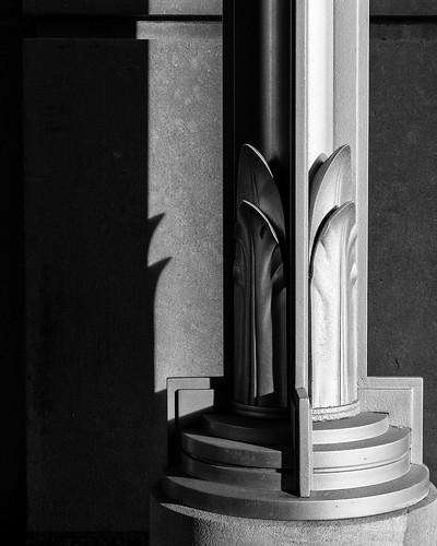Art Deco Lamp Post