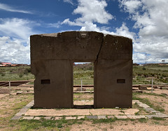 Tiwanaku at 3,840 meters (12,598 ft) above sea level: Spiritual and Political Centre of the Tiwanaku Culture, Bolivia.