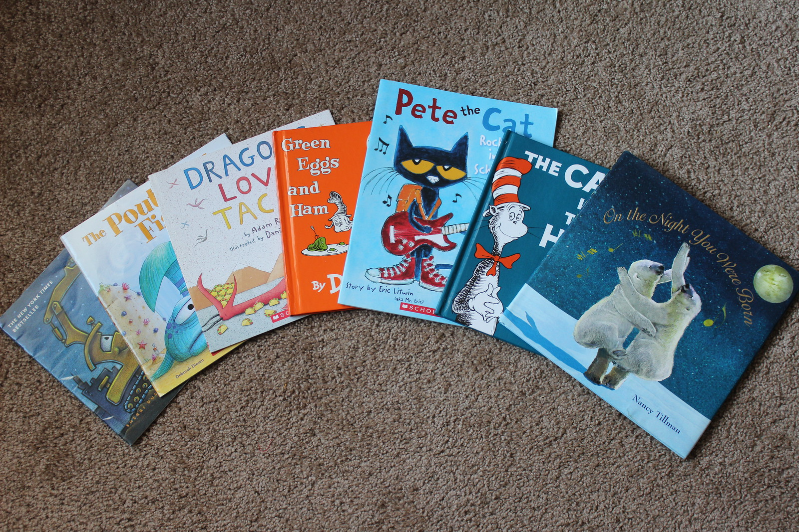 some popular recent children's picture books
