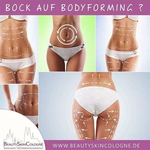  Wir starten mit den Vorbereitungen für einen schönen Sommer-Body  Mit unseren Bodyforming-Treatments kommt ihr dem Wunsch nach einem schlanken, fitten und aktiven Körper einen großen Schritt näh