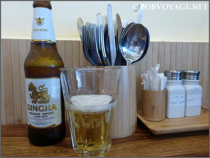 בירה סינגה ב- איסאן (Eisan)