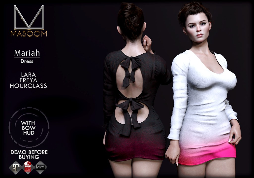 [[ Masoom ]] Mariah Dress @ Fameshed - TeleportHub.com Live!