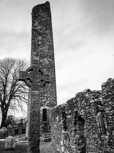 High Cross of Mainistir Bhuithe Monasterboice - Monastery of Buithe - County Louth Ireland