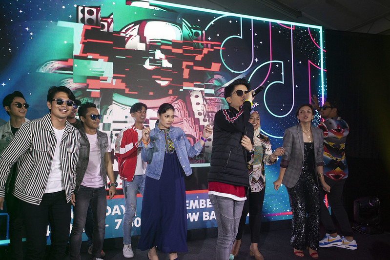 P4A - Haqiem Rusli Taking The Stage With Local Celebs At The Tiktok Party