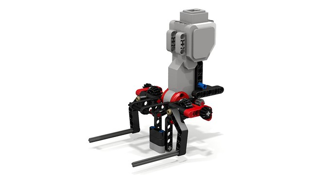 Improved Lego Mindstorms EV3 Grab+Lift by RobotECK