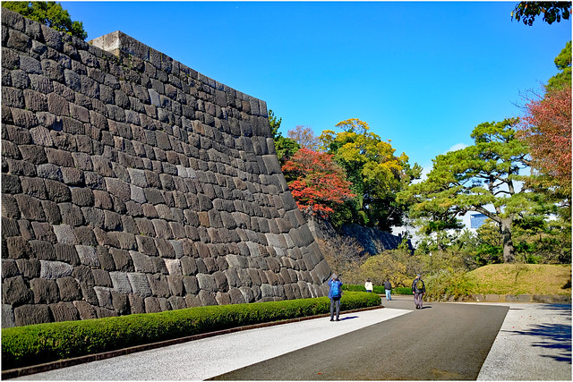 Photo:Ancient walls - Edo Castle-Imperial Palace - Tokyo, Japan.20 By Geoff Whalan