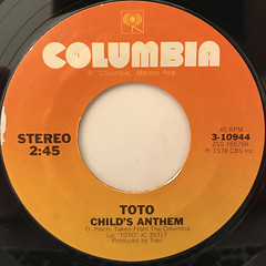 TOTO:GEORGY PORGY(LABEL SIDE-B)