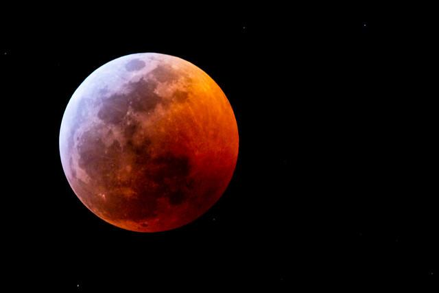 Lunar Eclipse January 21, 2019, Canon EOS 80D, Sigma 150-600mm f/5-6.3 DG OS HSM | C
