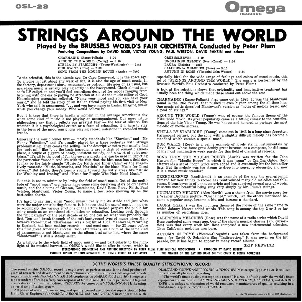 Peter Plum - Strings Around the World