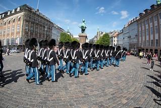 Parade in Copenhagen, Denmark