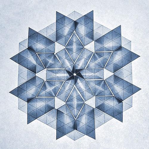 Origami Snowflake (Benjamin Parker)