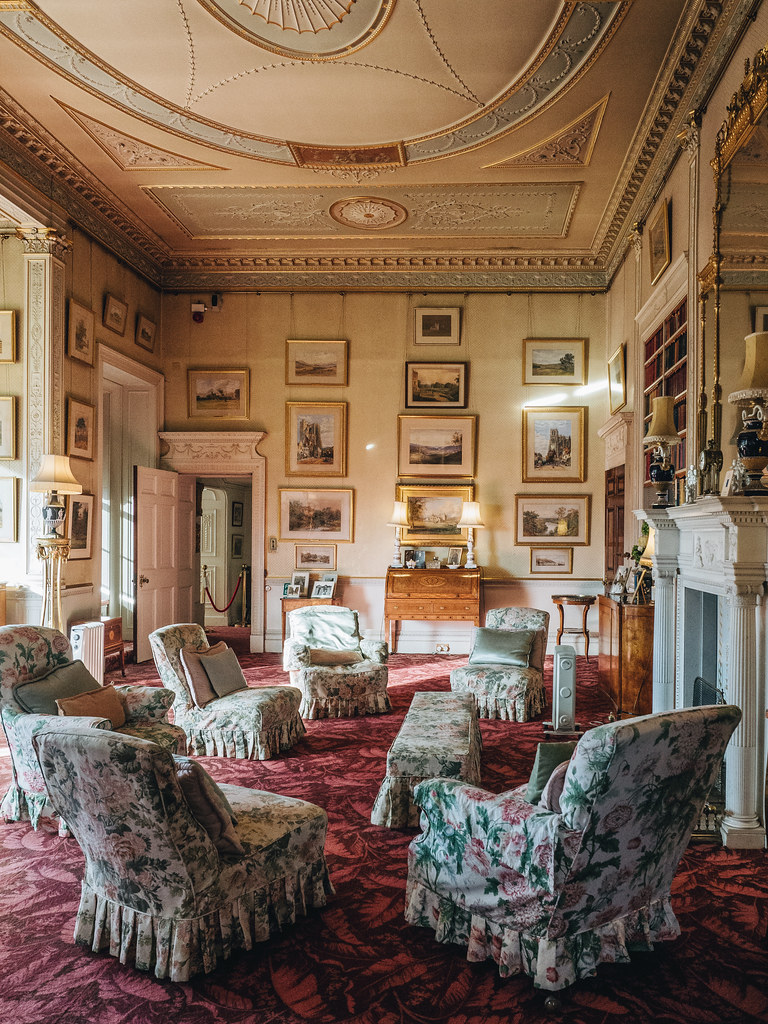 Haddo House - morning room-4