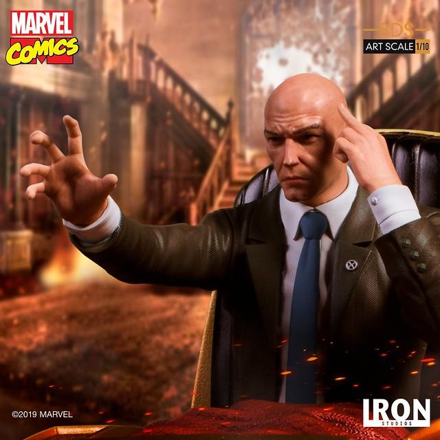 變種人與人類之間的橋樑! Iron Studios Battle Diorama 系列 Marvel Comics【X教授】Professor X 1/10 比例決鬥場景雕像作品