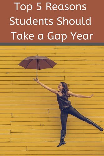 GAP year is a great opportunity for students. Here's why: