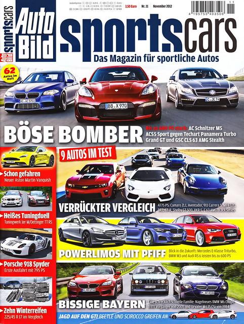 Auto Bild Sportscars 11/2012